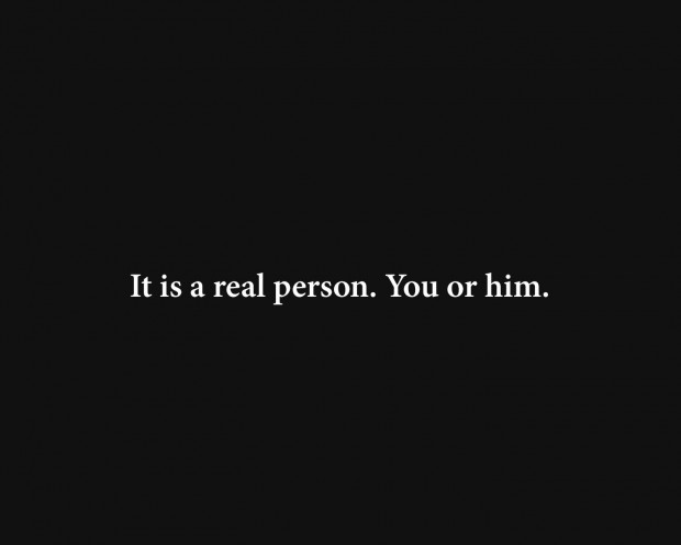 it is a real person