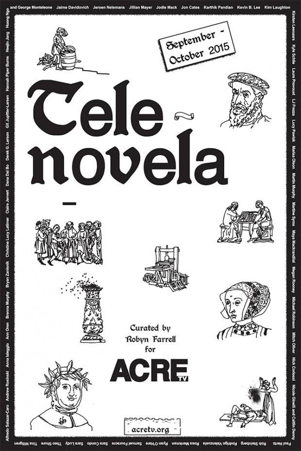 Kyle Schlie_Tele-novela Poster